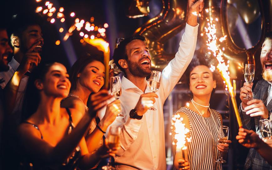 Celebrate New Year in London