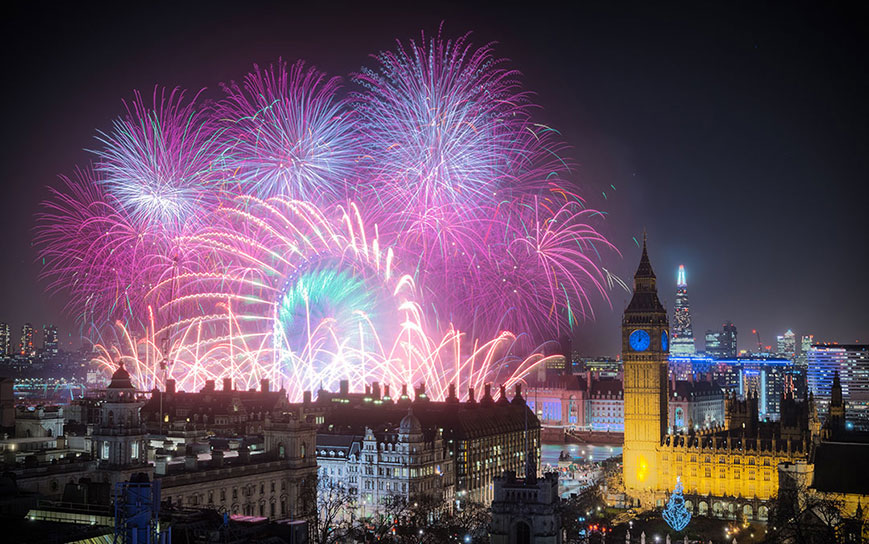 Celebrate New Year in style in Central London!