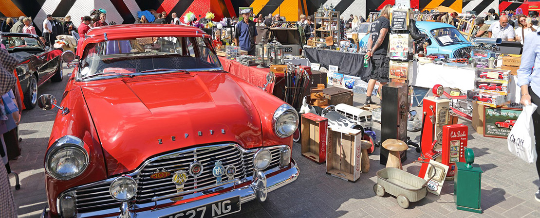 Vintage Car Boot Sale